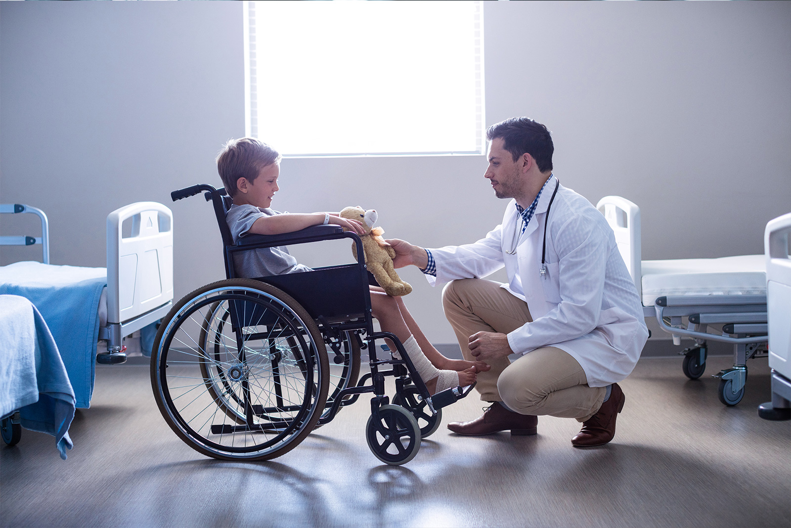 Servicio de traumatología sin cita previa